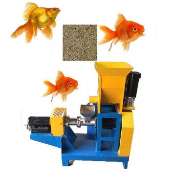 Twin Screw Fish Feed Pellet Production Equipment