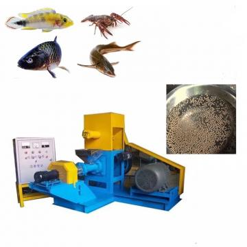 Automatic floating fish feed pellet extruder pet food making machine mill plant