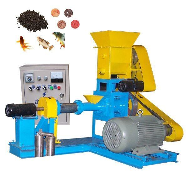 The Chicken Broiler Floating Fish Feed Pellet Line Plant